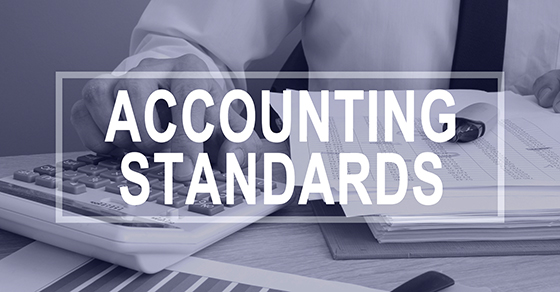 The words ACCOUNTING STANDARDS